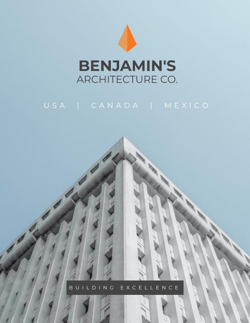 Architecture Press Kit Template