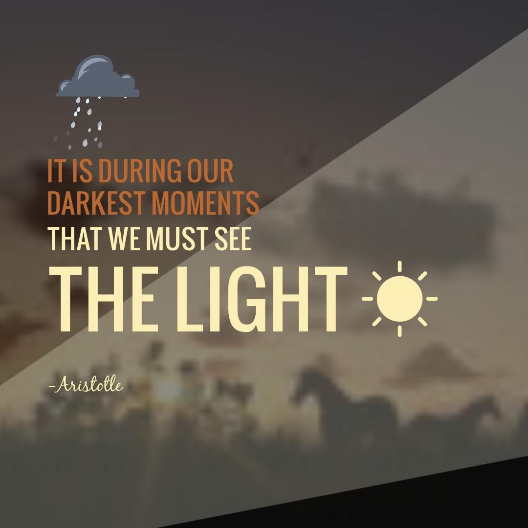 Aristotle Animated Quote Square Template