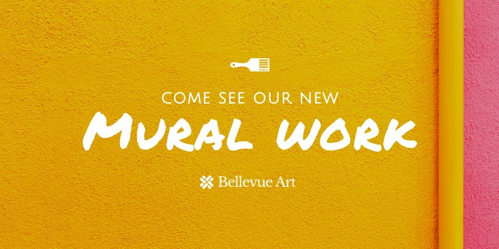 Art Gallery Twitter Post  Template