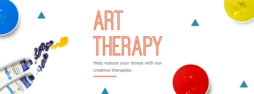 Art Therapy Facebook Cover   Template