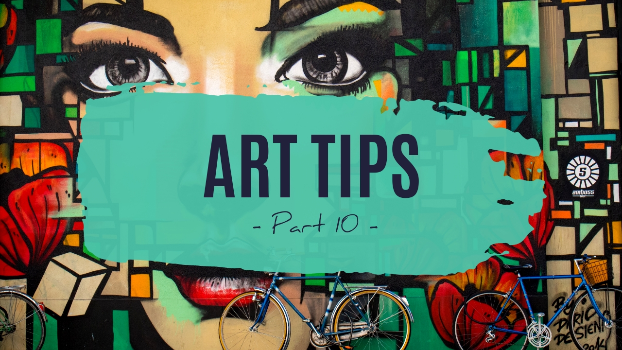 Art Tips Youtube Video Cover Template