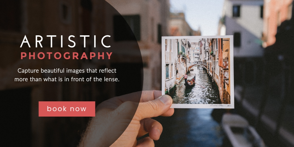 Artistic Photography Twitter Post  Template