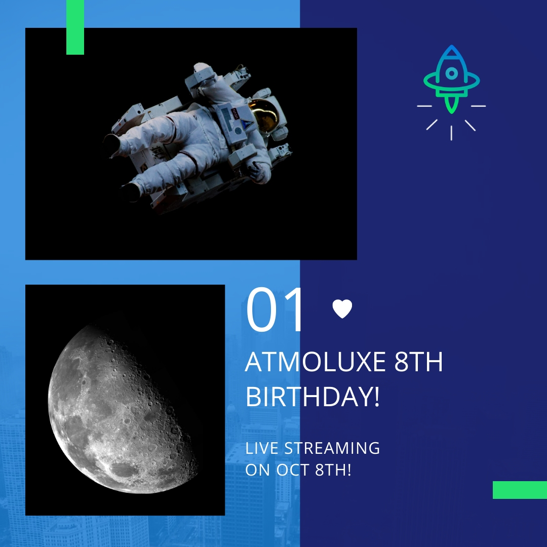 Atmoluxe Celebrations Animated Square Template