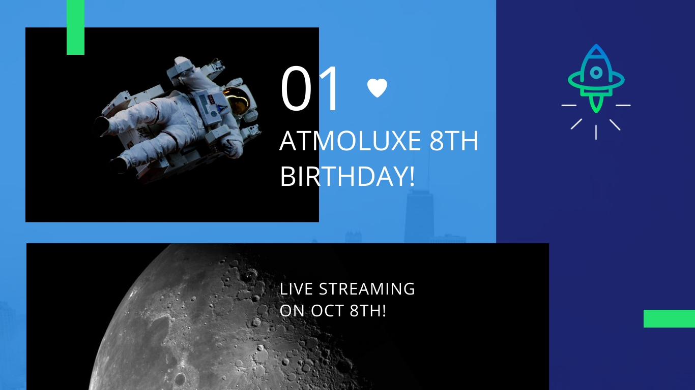 Atmoluxe Celebrations Animated Wide Template