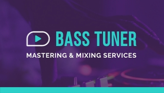 Audio Mastering Service Business Card Template