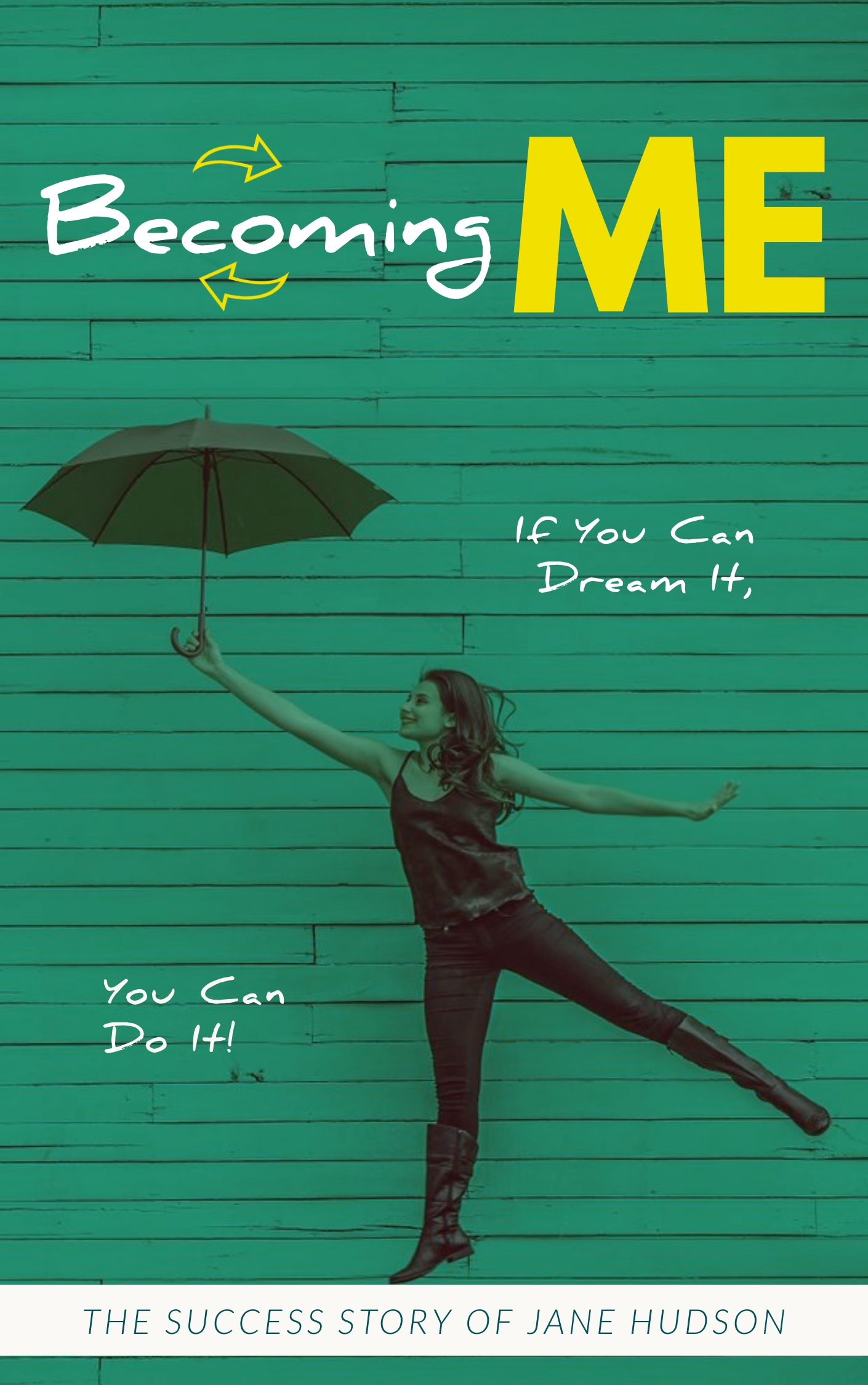 Autobiography Me - Book Cover Template