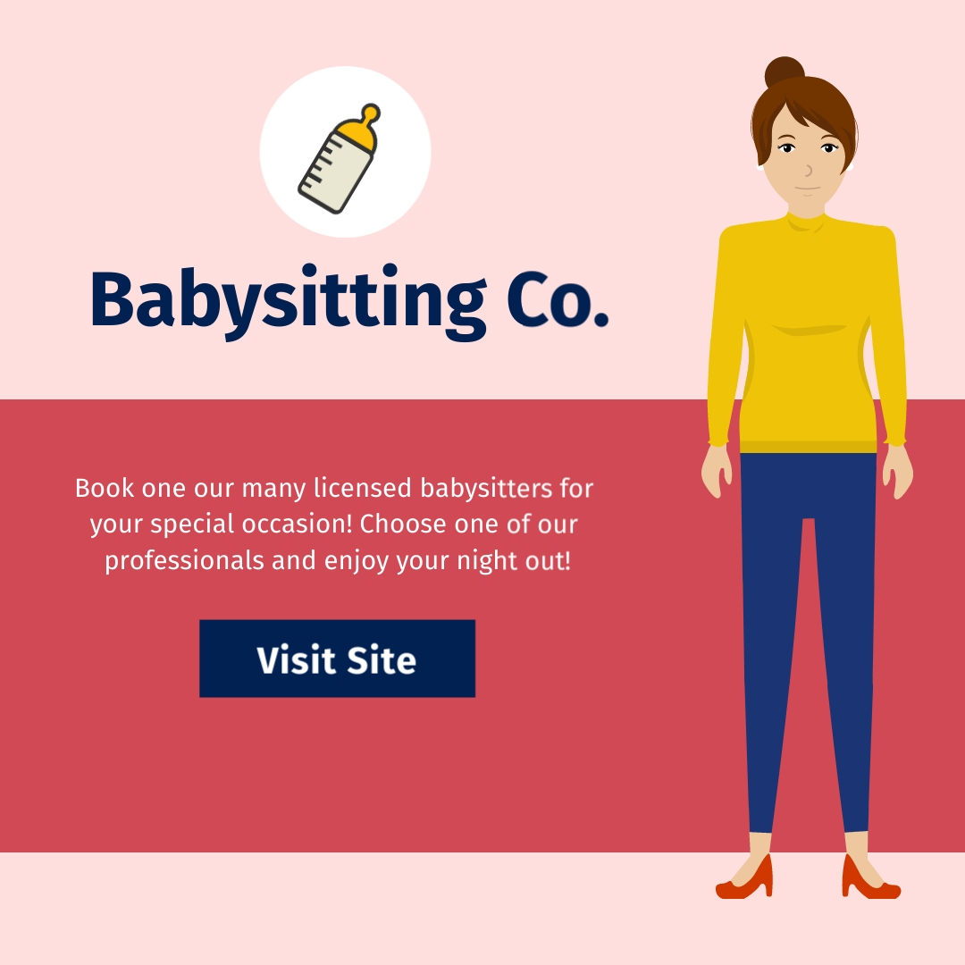 Babysitting Co Square Template