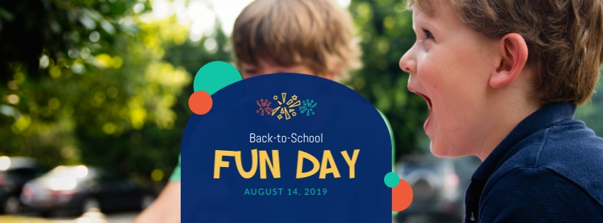 Back to School Fun Day Facebook Cover Template