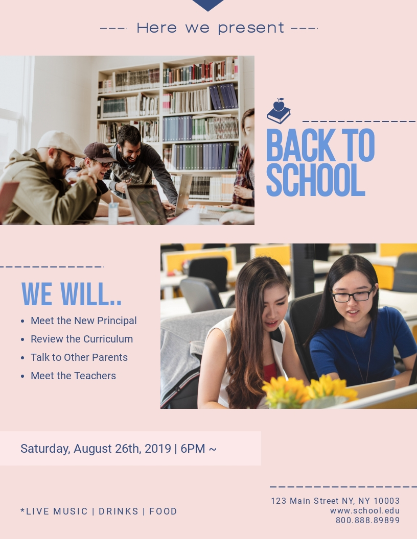 Back to School - Flyer Template