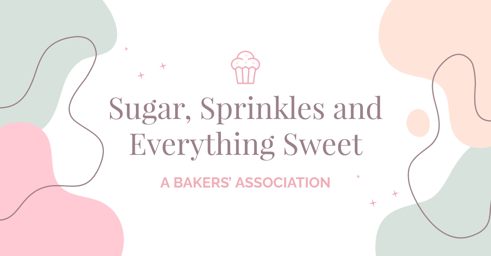 Bakers Facebook Group Cover Template