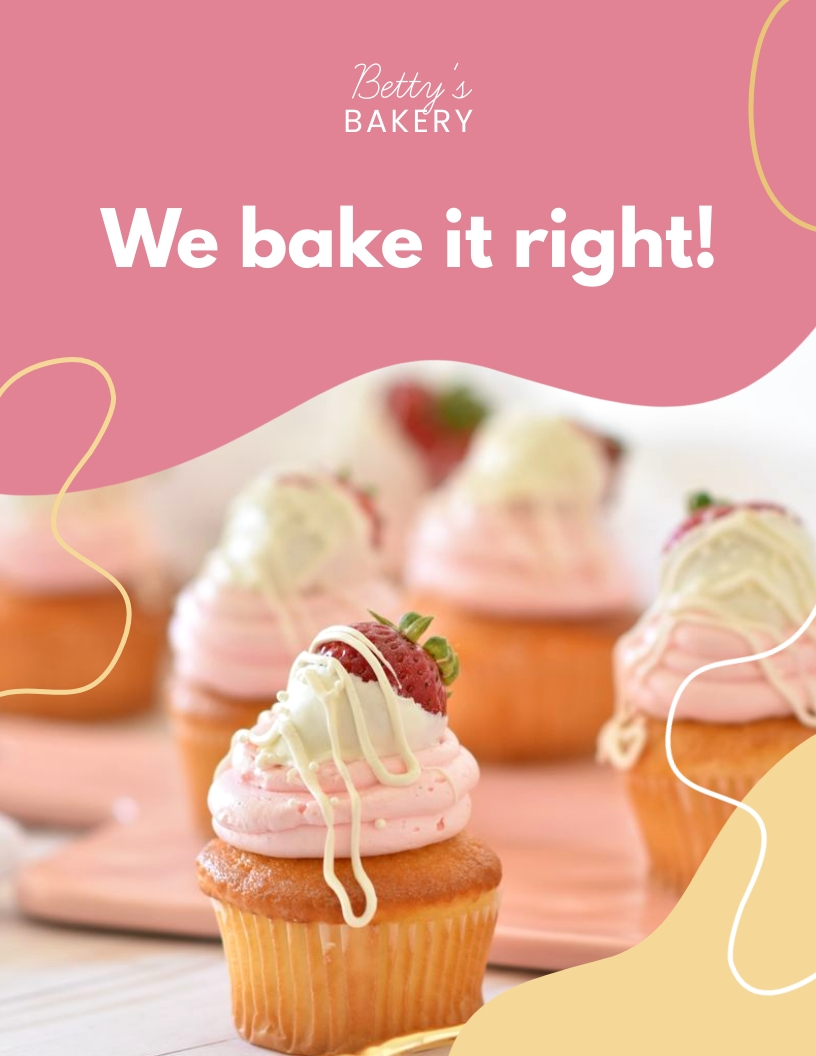 Bakery Press Kit Template