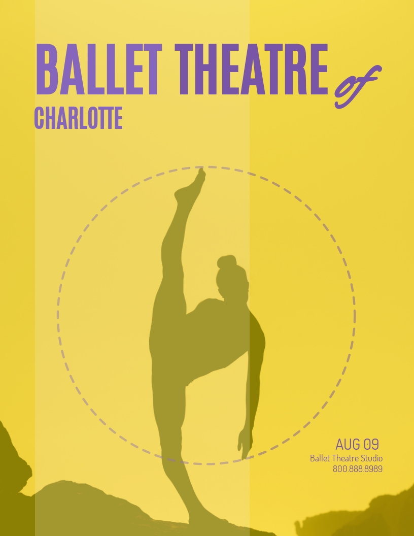 Ballet Dance - Flyer Template