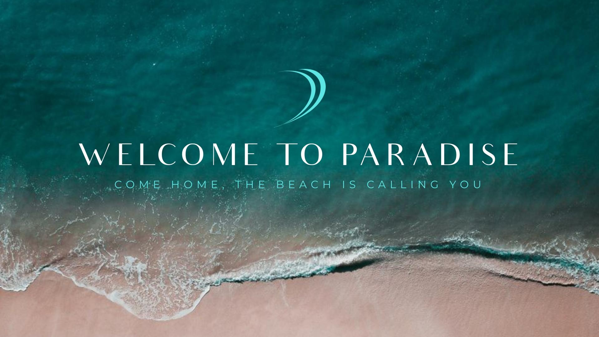 Beach Hotel Facebook Video Ad Template