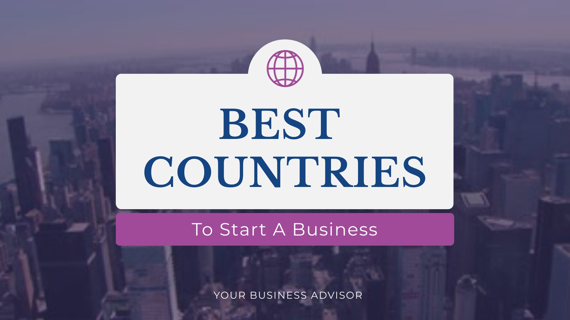 Best Countries Intro - Video Template