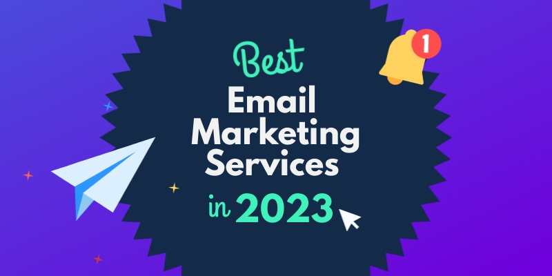 Best Email Mkt Services in 2023 Blog Graphic Header Template