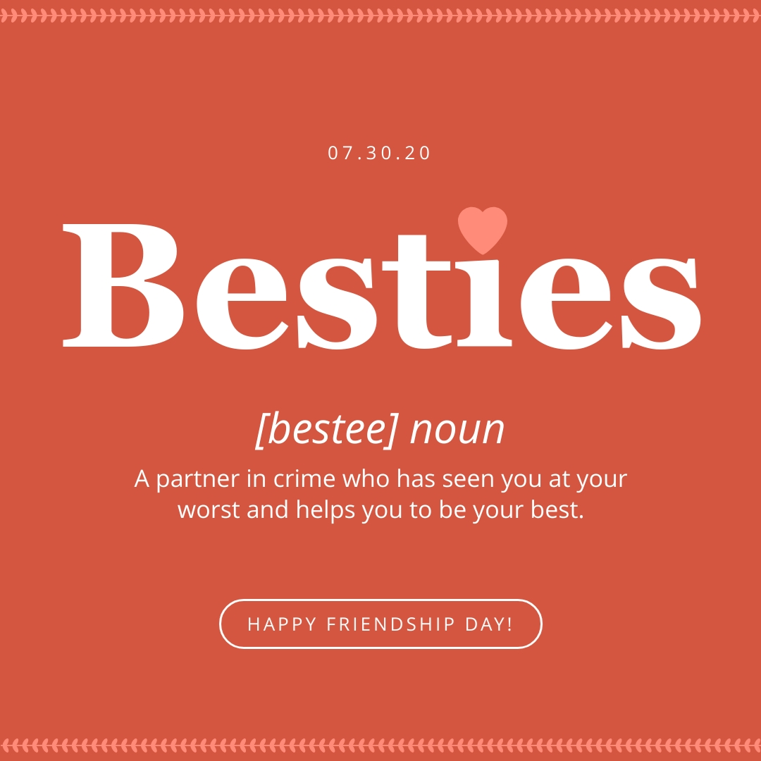Besties Animated Square  Template