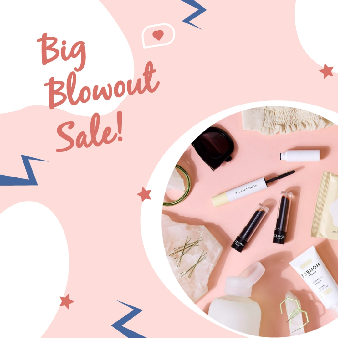 Big Blowout Sale Animated Square Template