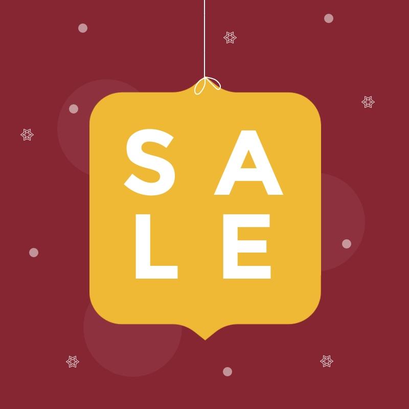 Big Christmas Sale Blog Graphic Medium  Template