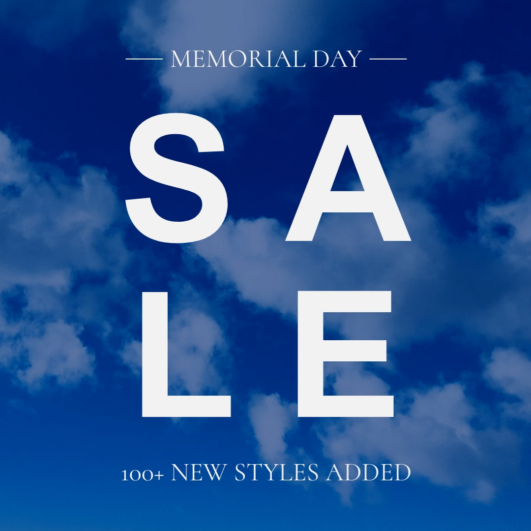 Big Memorial Day Sale Animated Square Template
