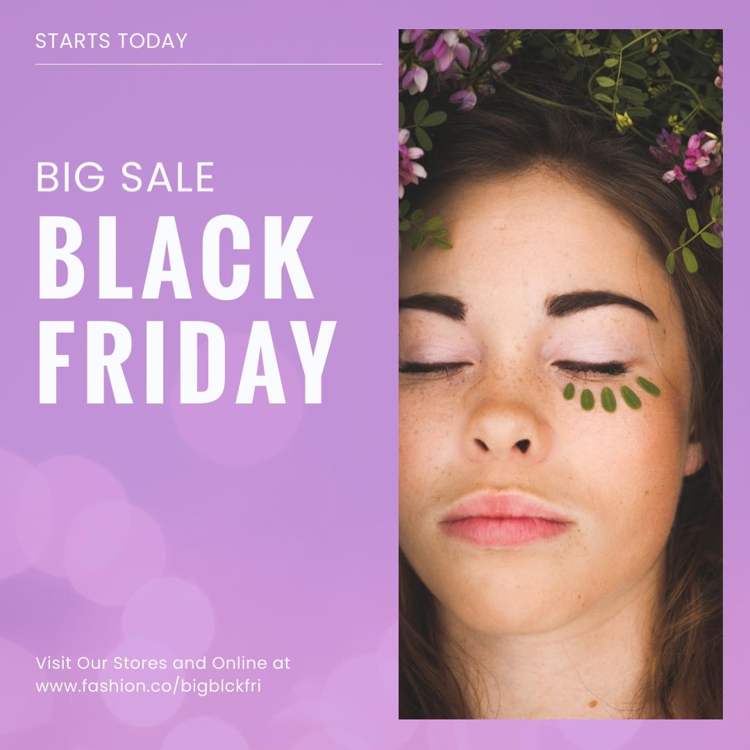 Big Sale Black Friday Blog Graphic Medium Template
