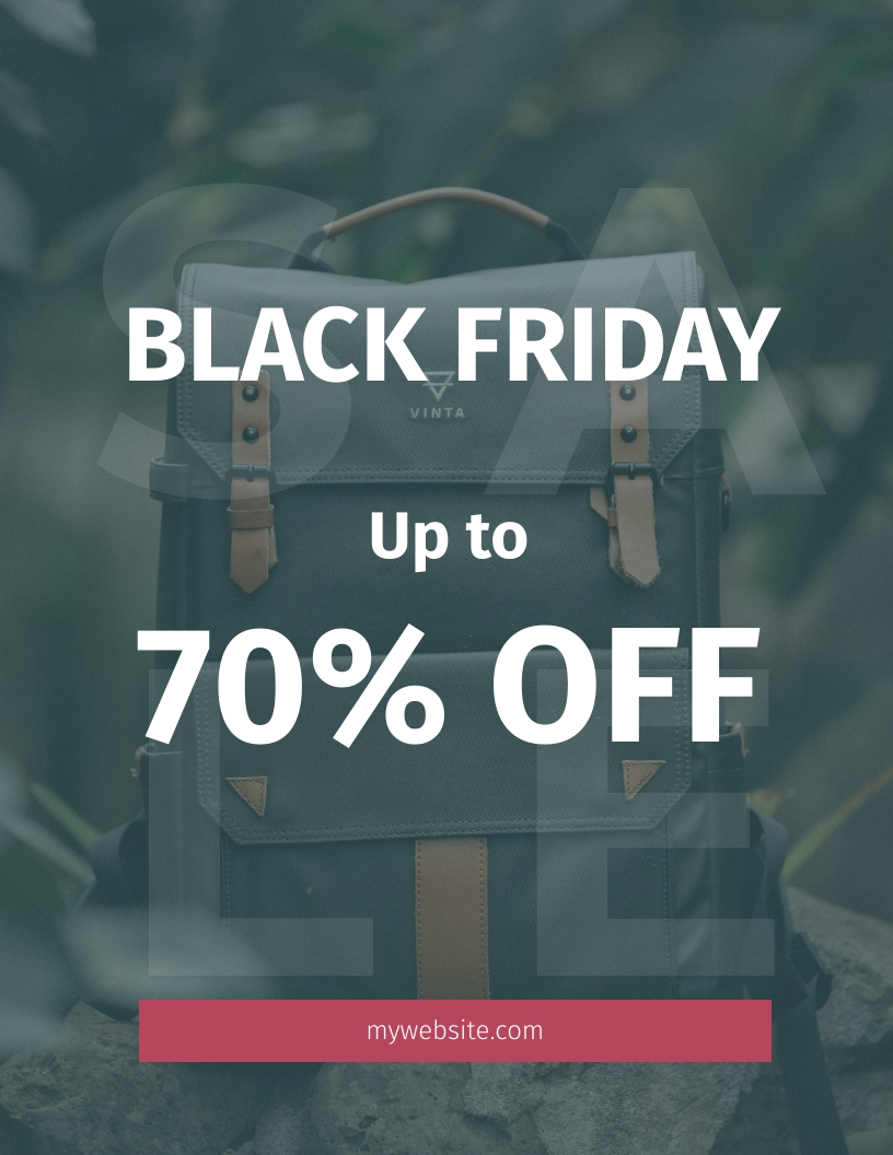 Black Friday Big Sale Flyer Template