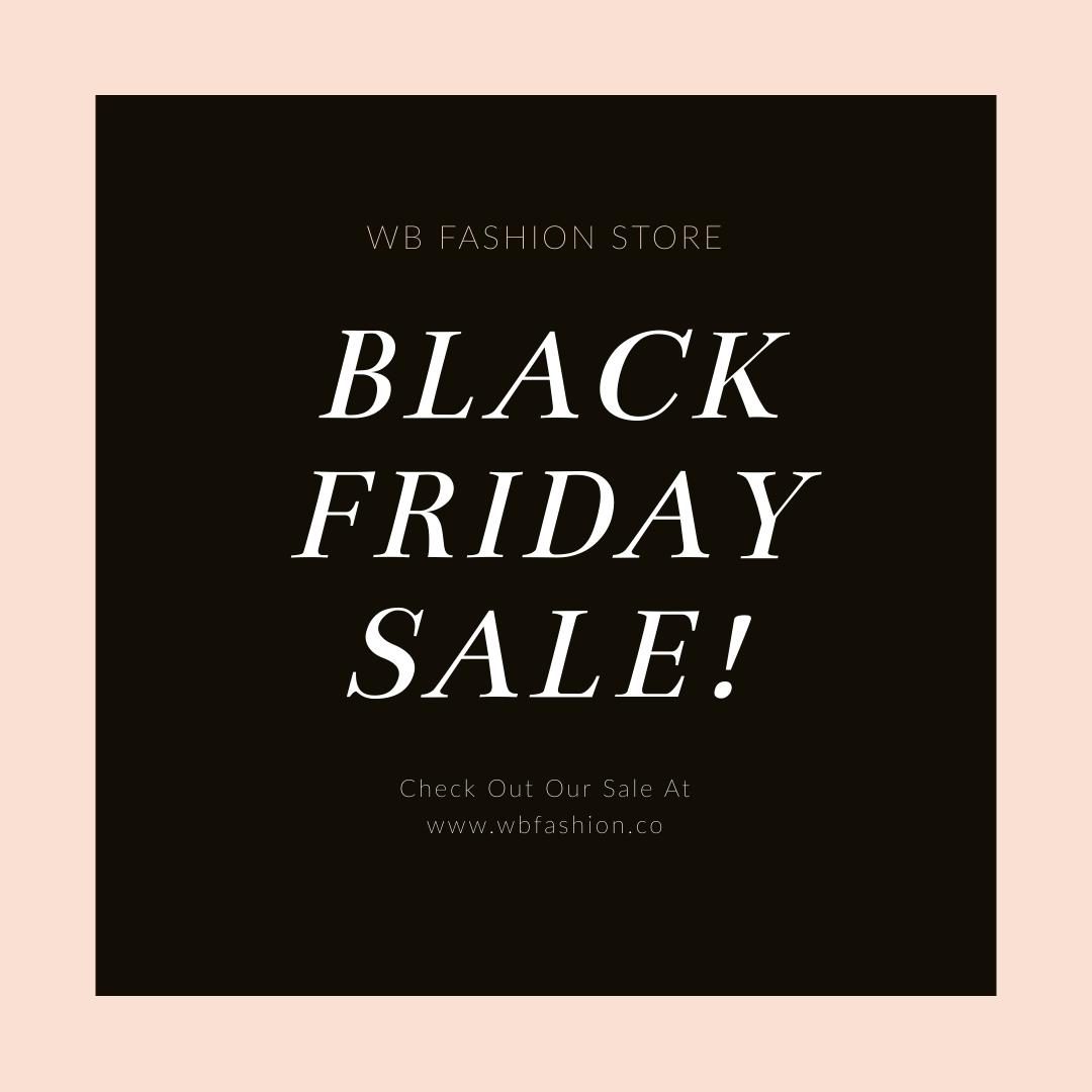 Black Friday Fashion Discounts Blog Graphic Medium Template