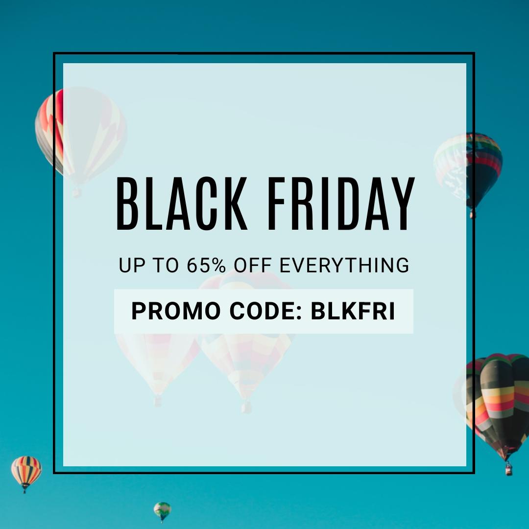Black Friday Sale Blog Graphic Medium Template