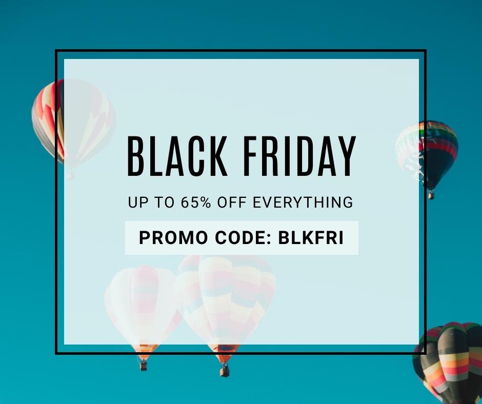 Black Friday Sale Facebook Post Template