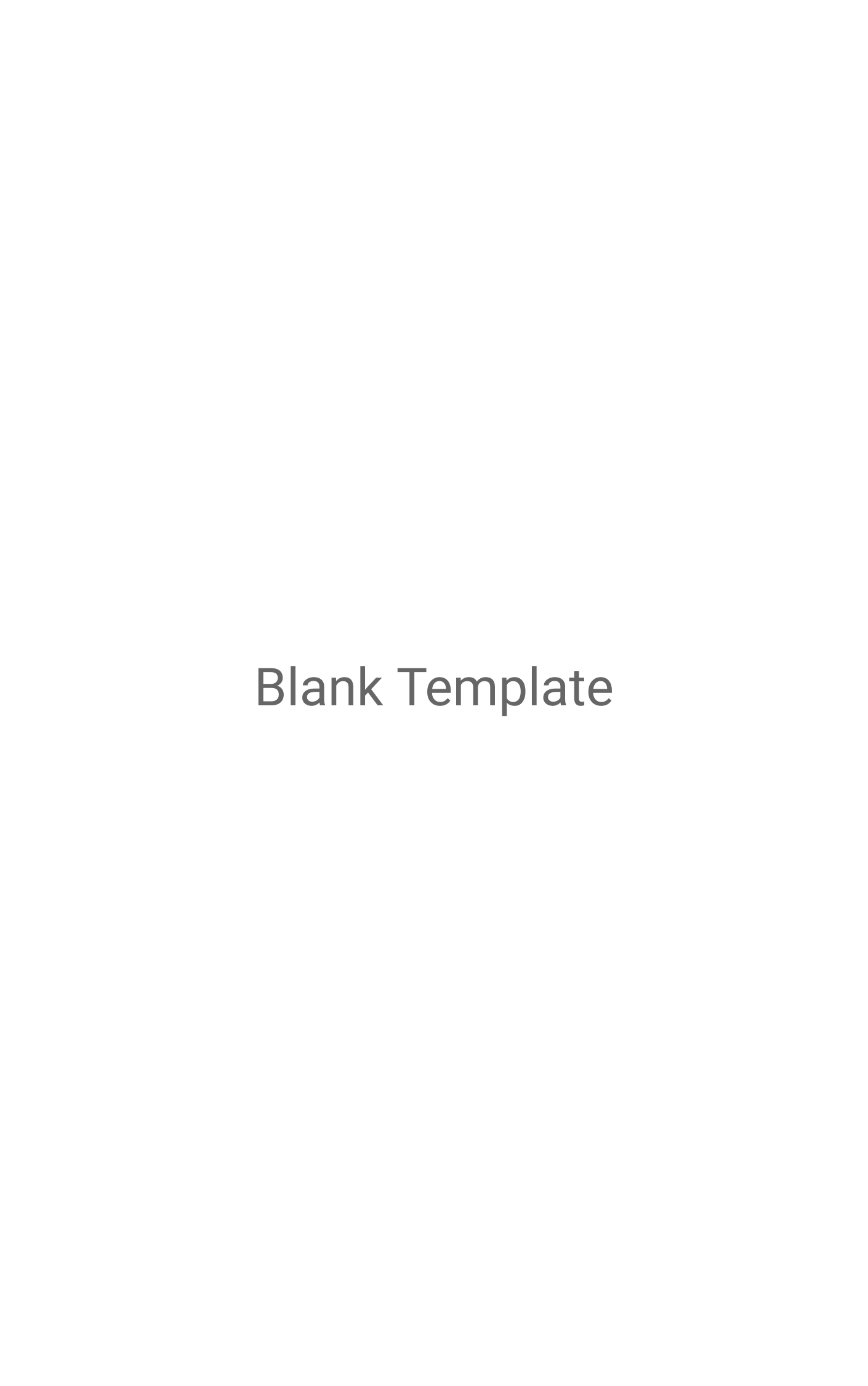 Blank Template Book Covers Template