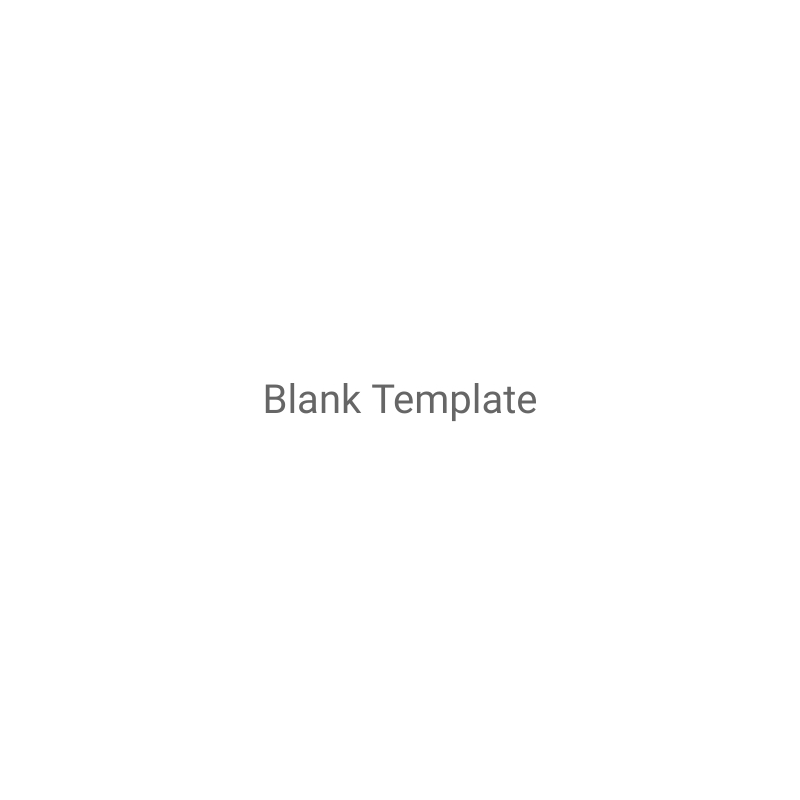 Blank Template Charts Square Template