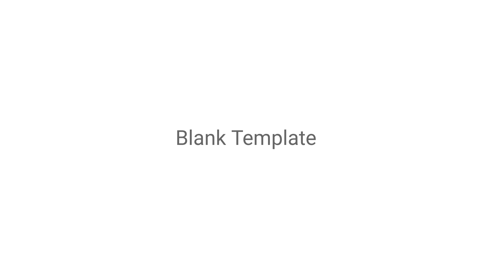 Blank Template Charts Wide Template