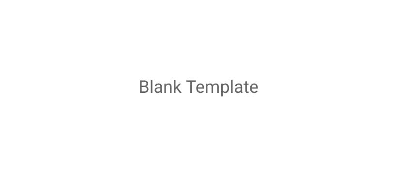 Blank Template Facebook Pages Template