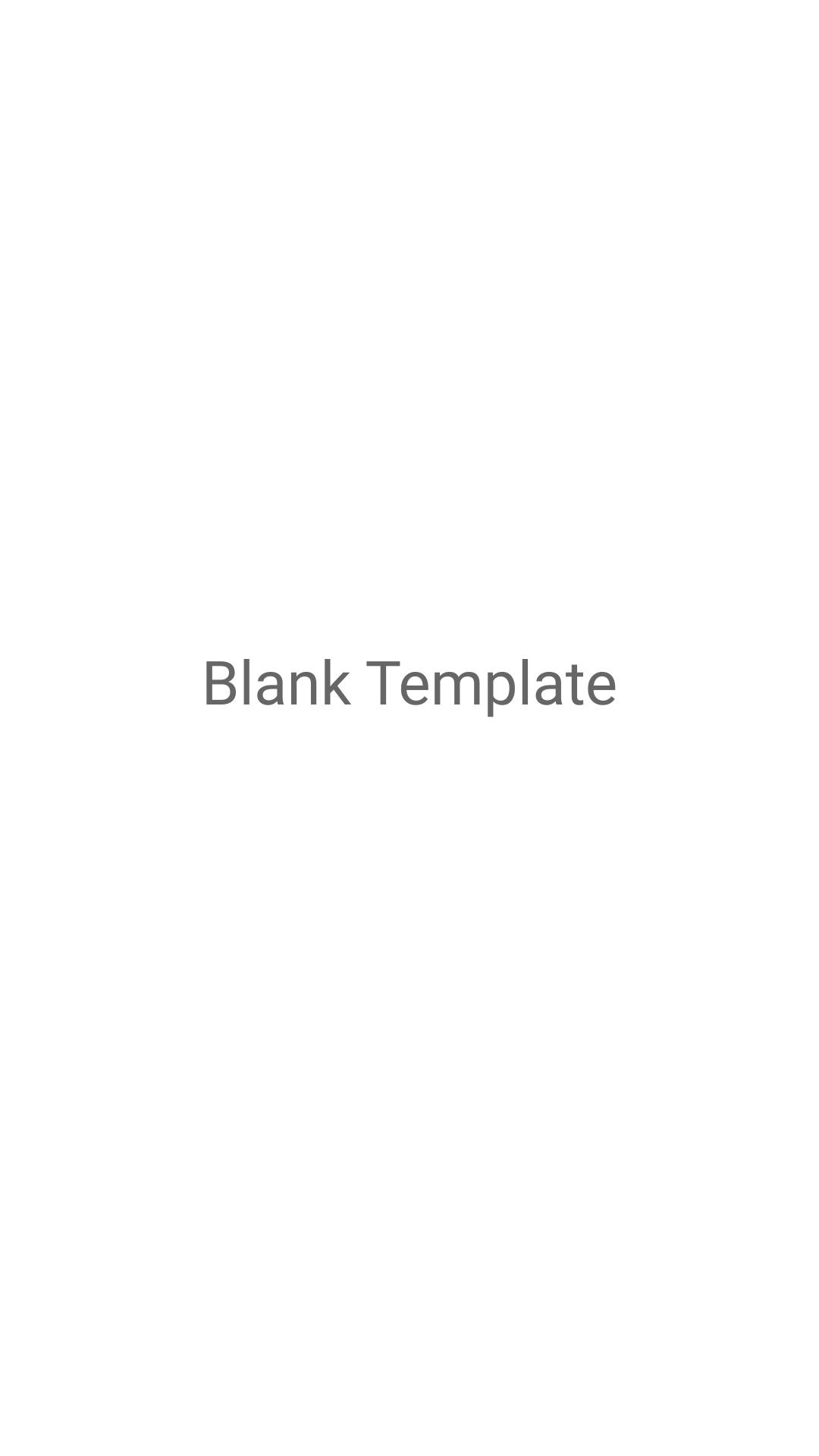 Blank Template Instagram Stories Template