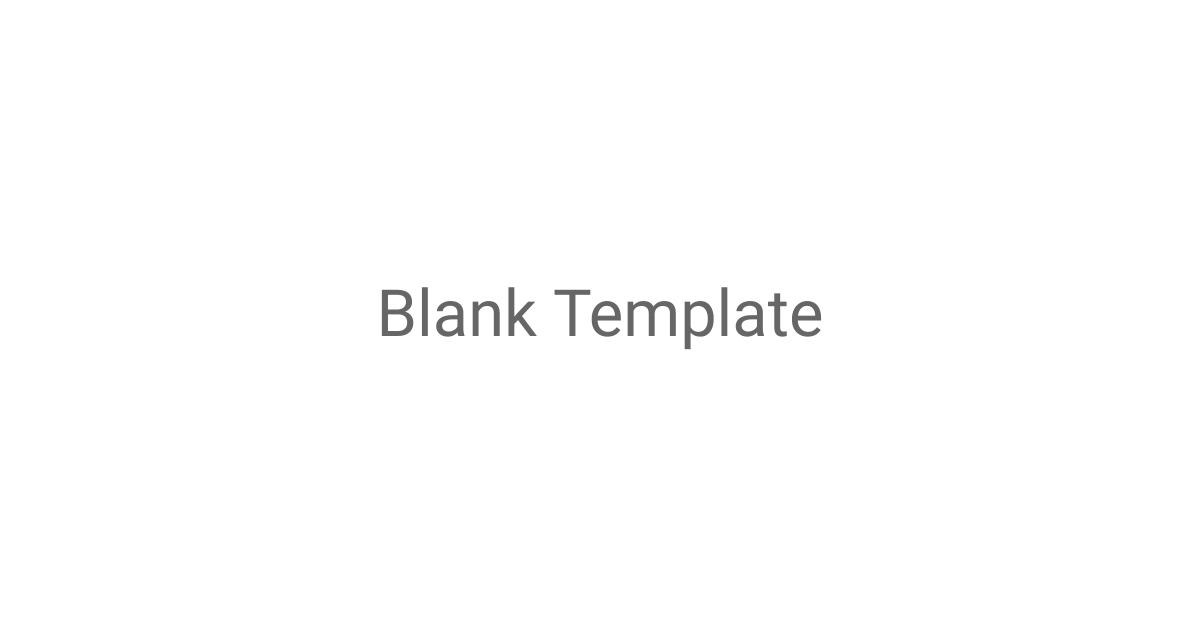 Blank Template LinkedIn Sponsored Content Template