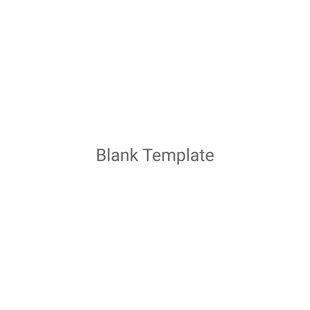 Blank Template Mockups Square Template