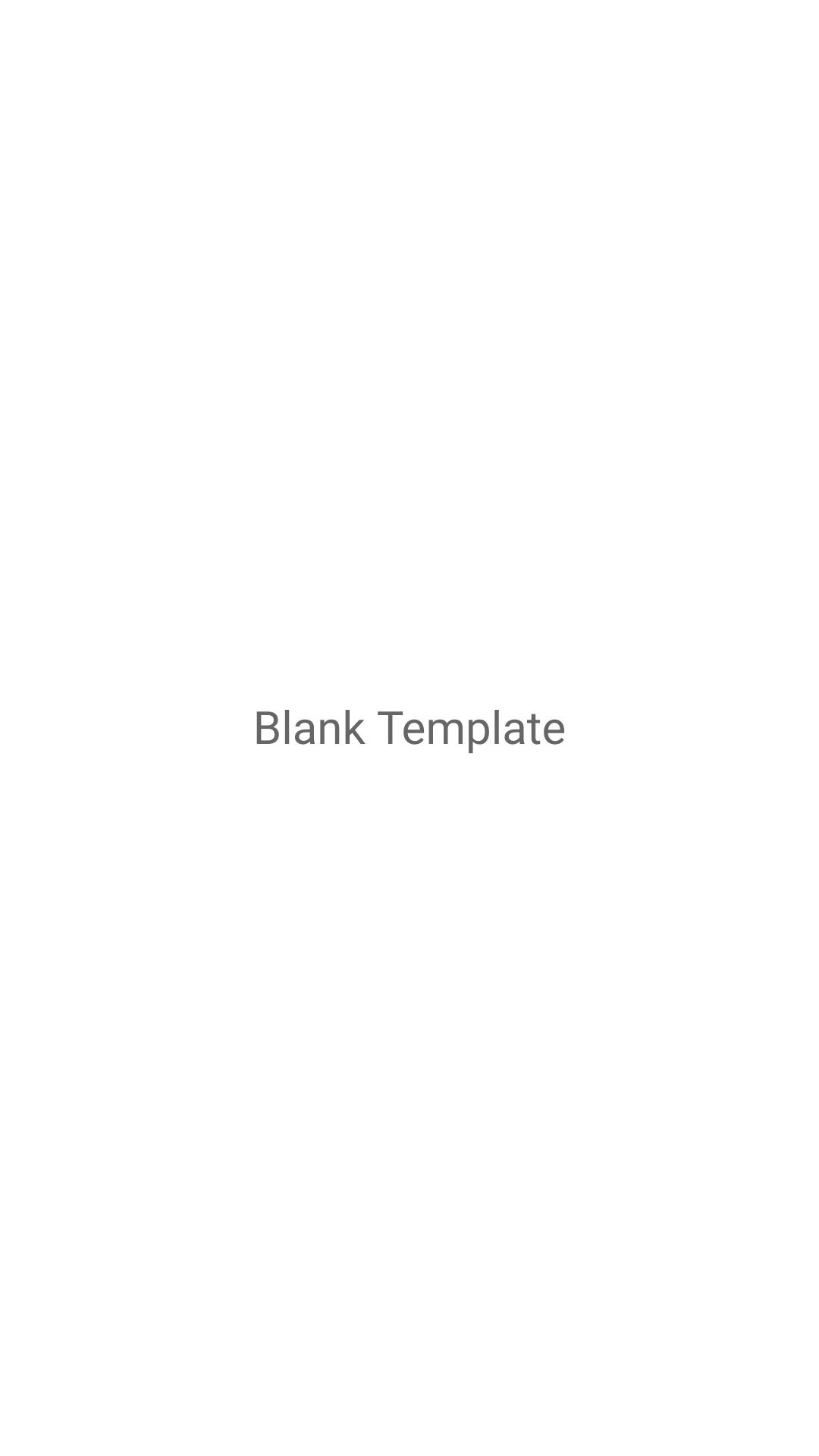 Blank Template Mockups Vertical Template