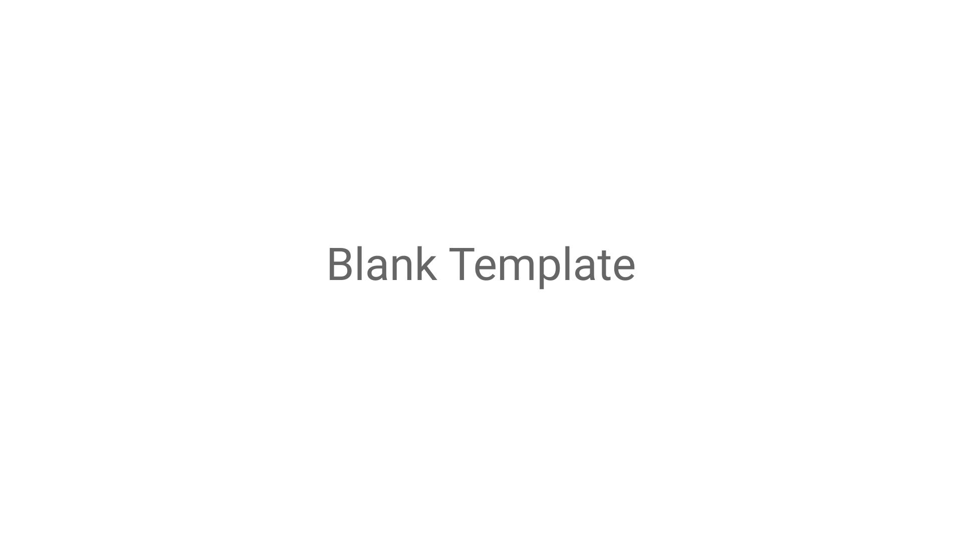 Blank Template Mockups Template