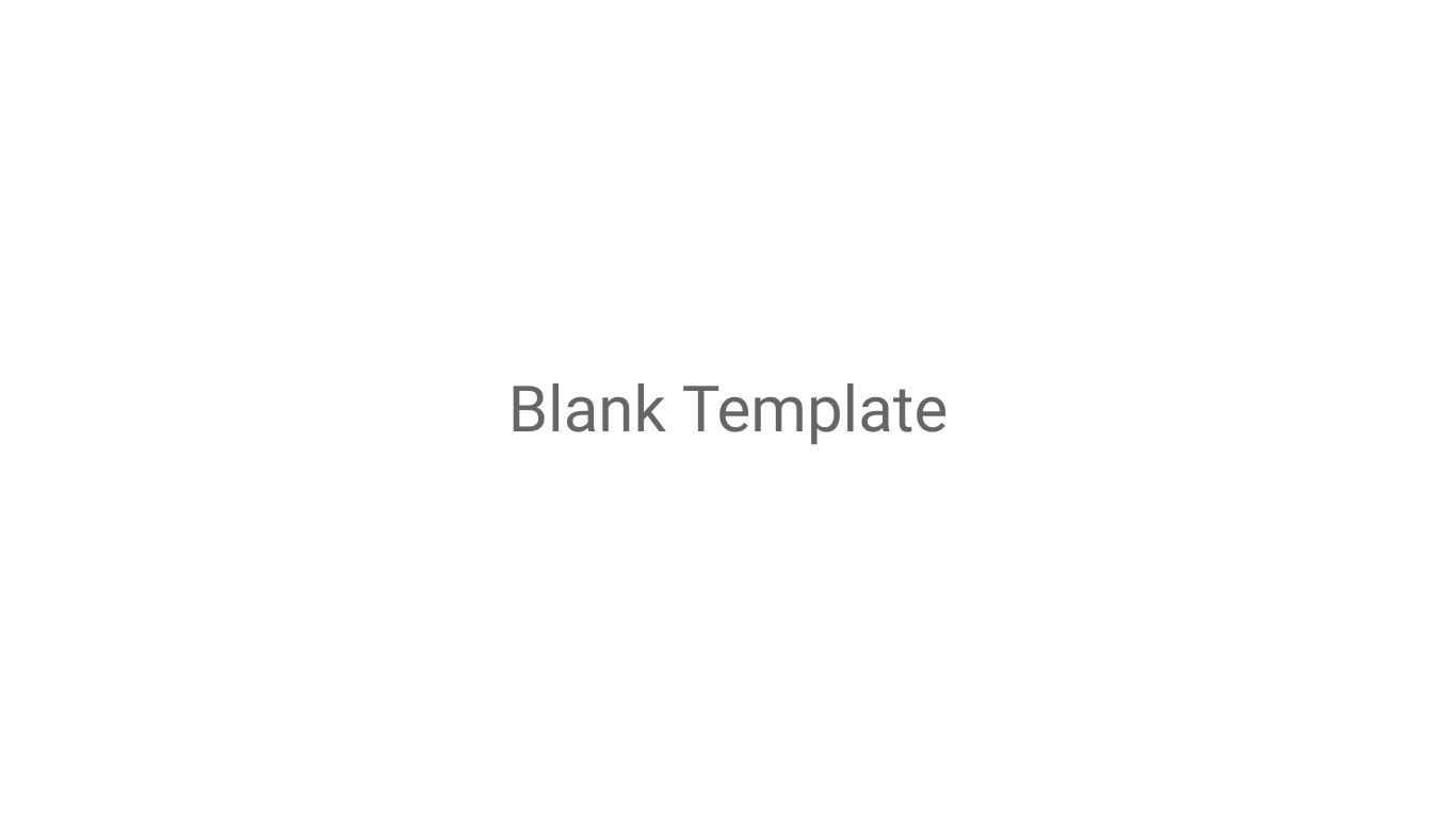 Blank Template Storyboards Template
