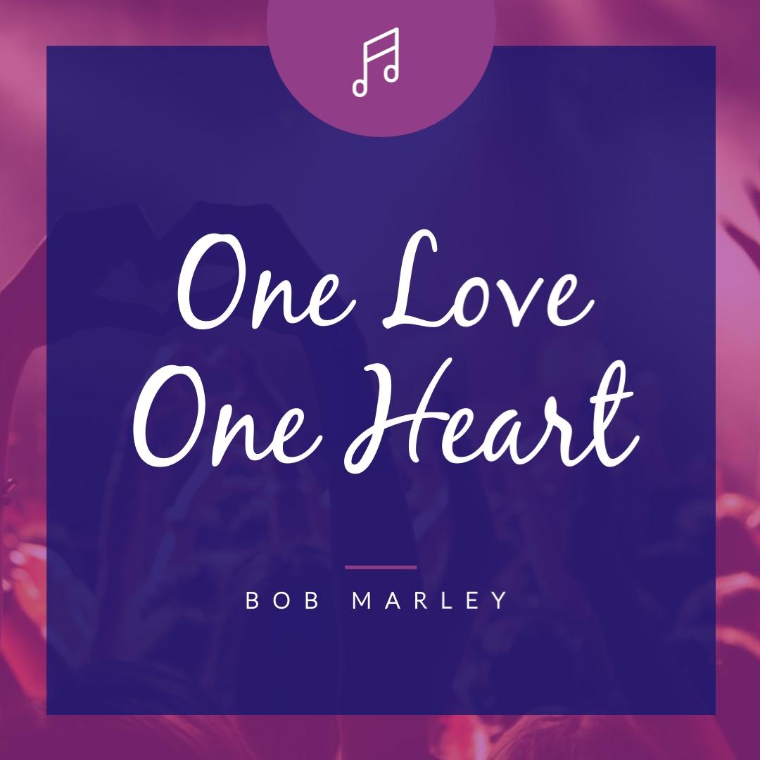 Bob Marley Lyrics - Instagram Post Template
