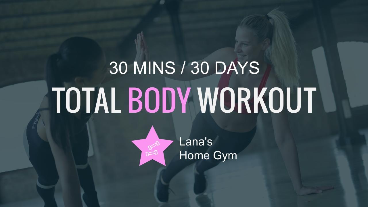 Body Workout Youtube Thumbnail Template
