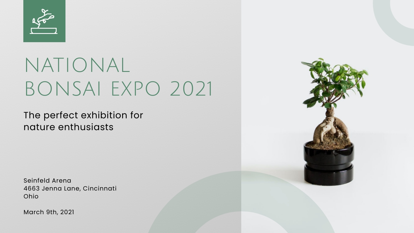 Bonsai Expo - Facebook Event Cover Template