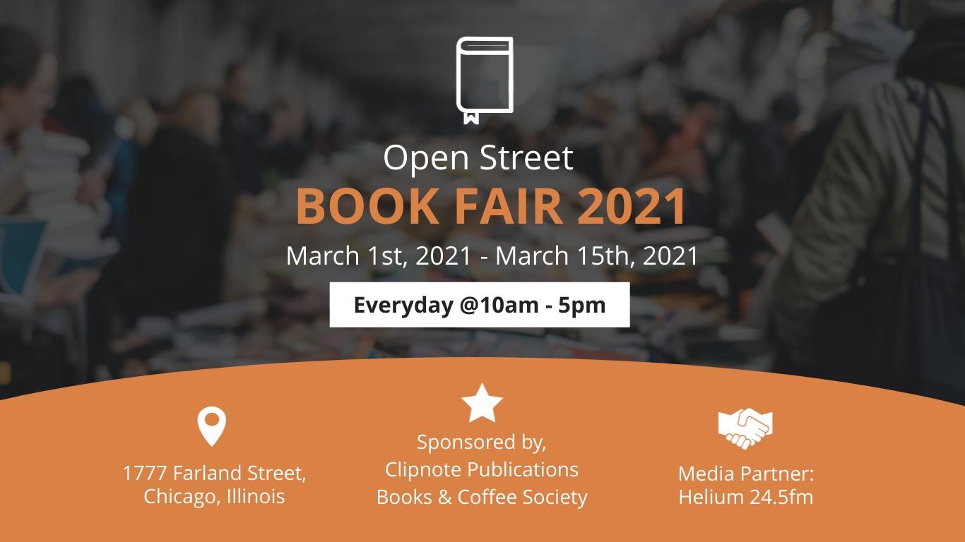 Book Fair Facebook Event Cover Template