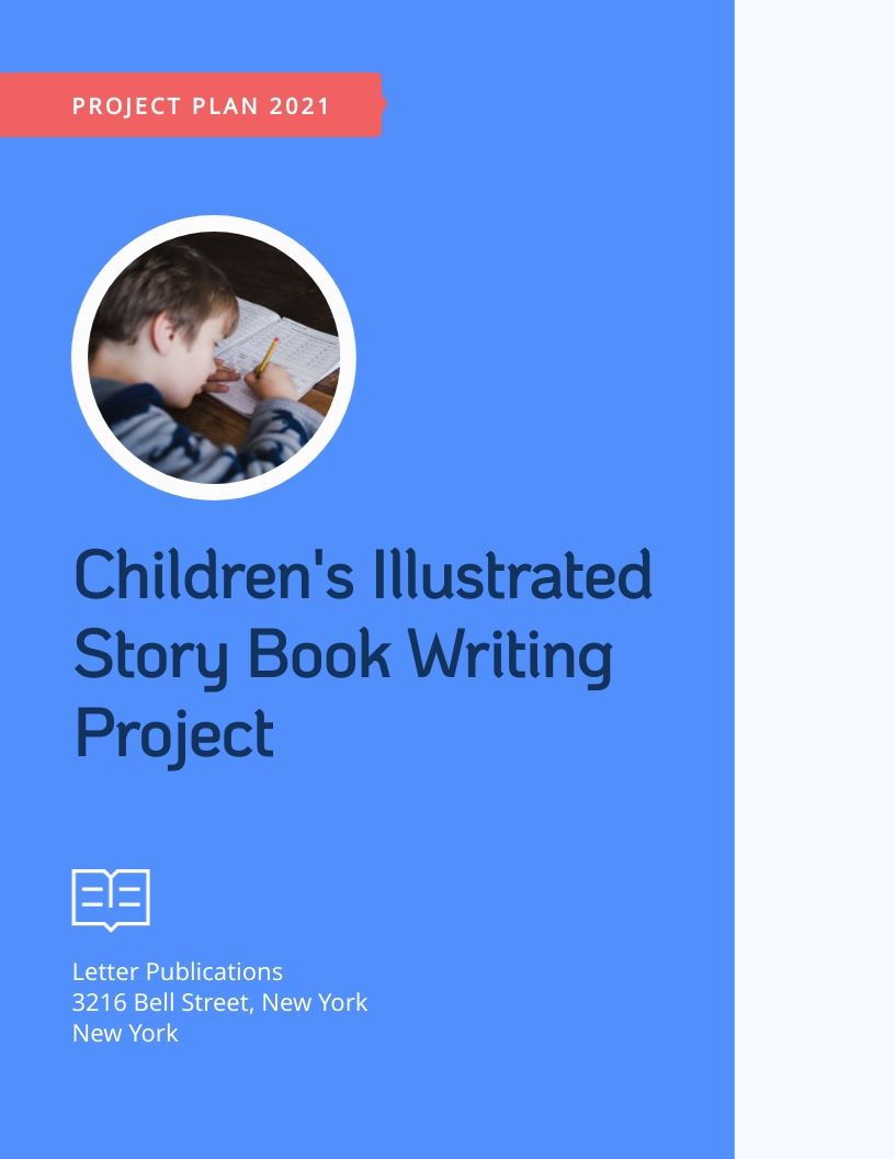Book Writing - Project Plan Template