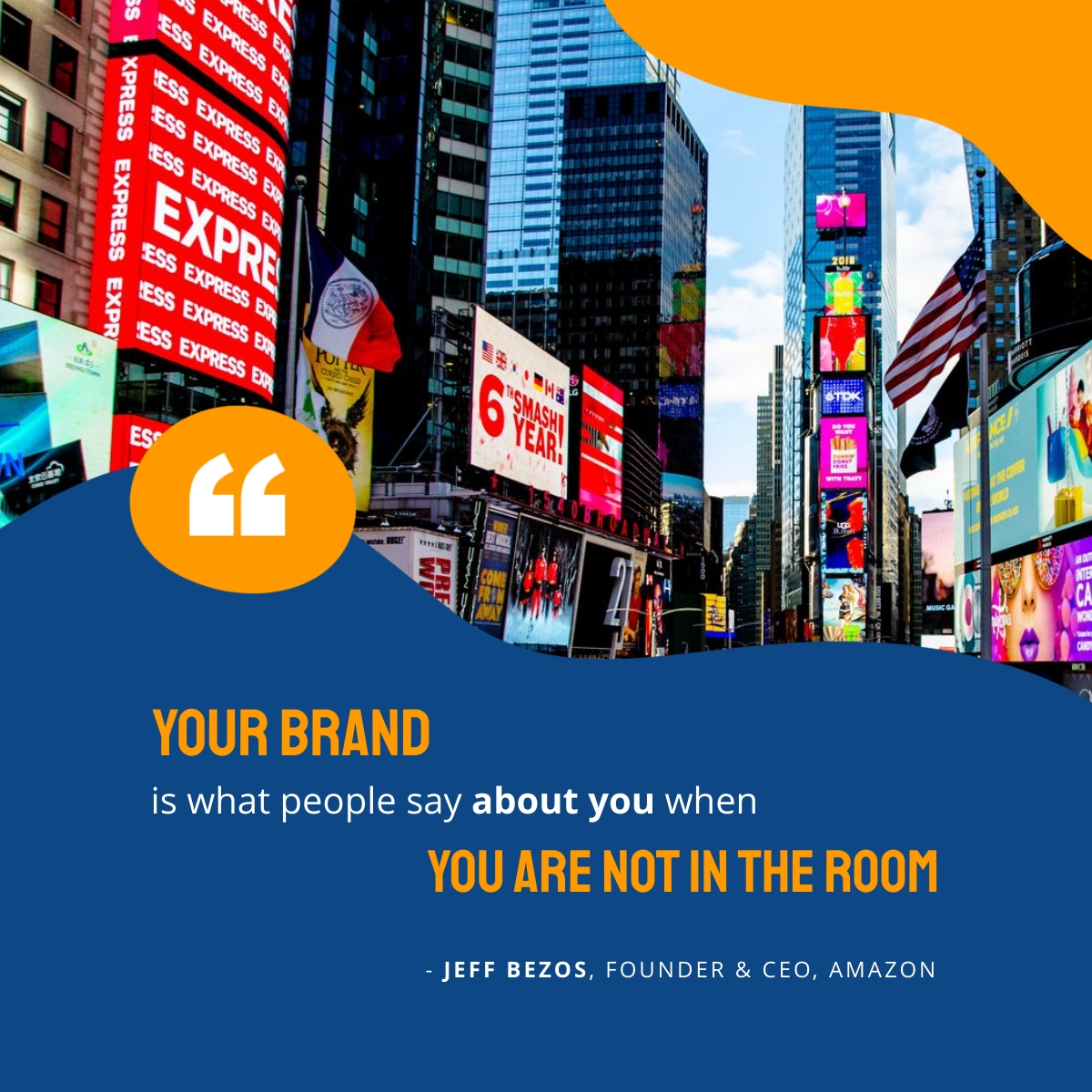Branding Quote - LinkedIn Post Template