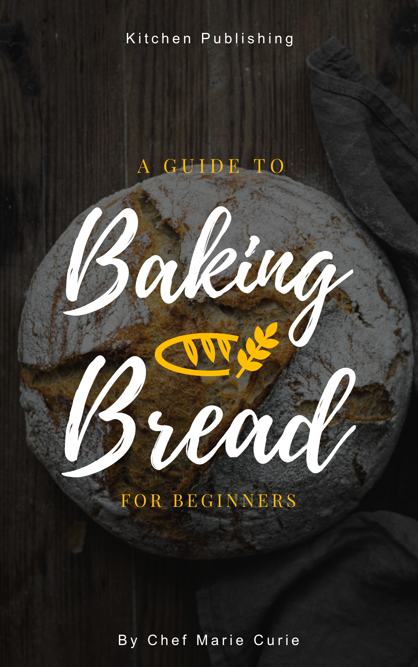 Bread Baking - Book Cover  Template
