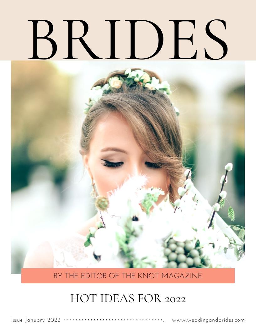 Brides - Magazine Cover Template
