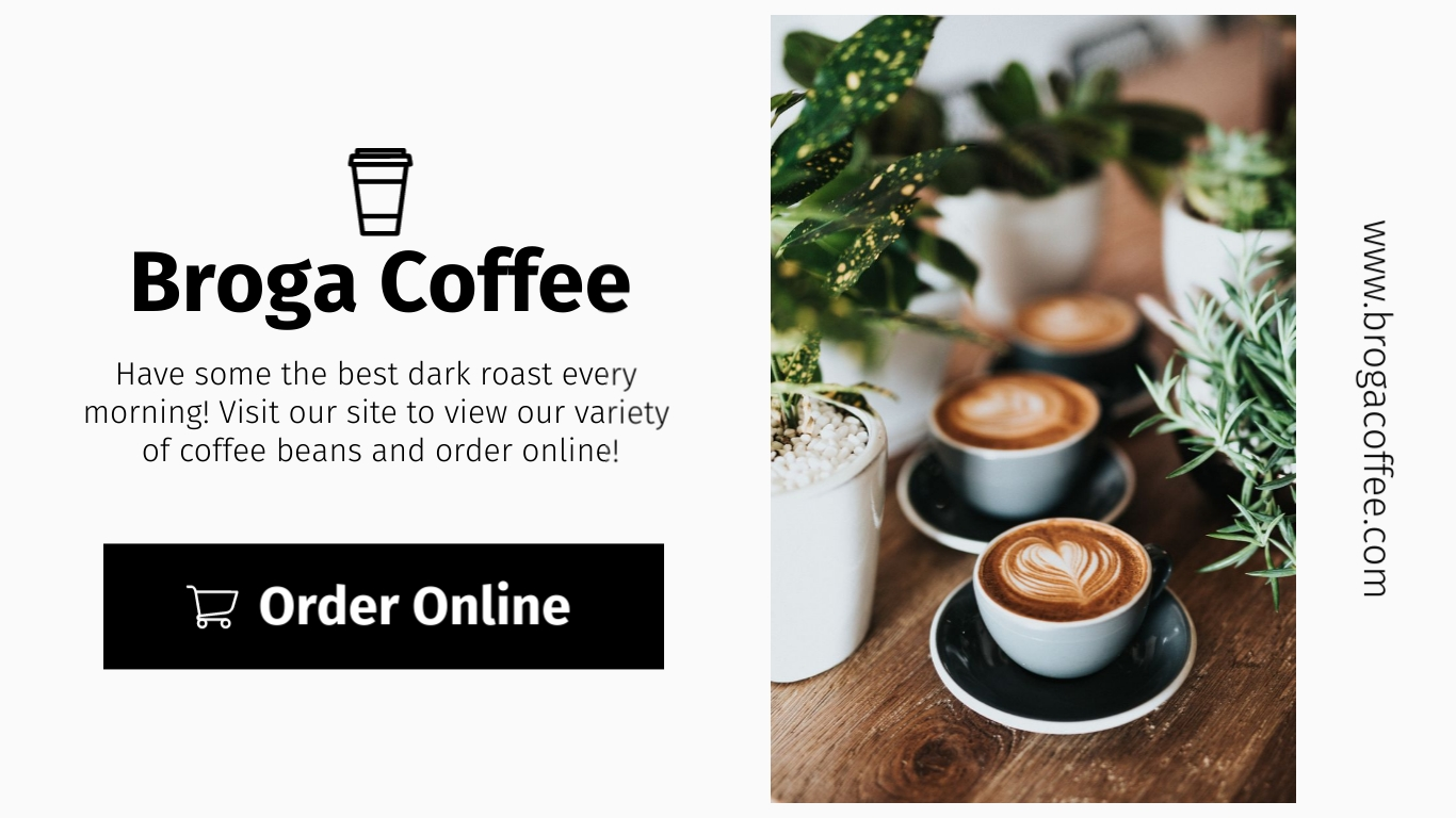 Broga Coffee Shop Wide Template