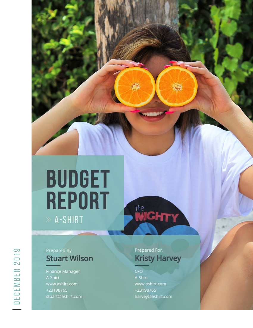 Budget - Report Template