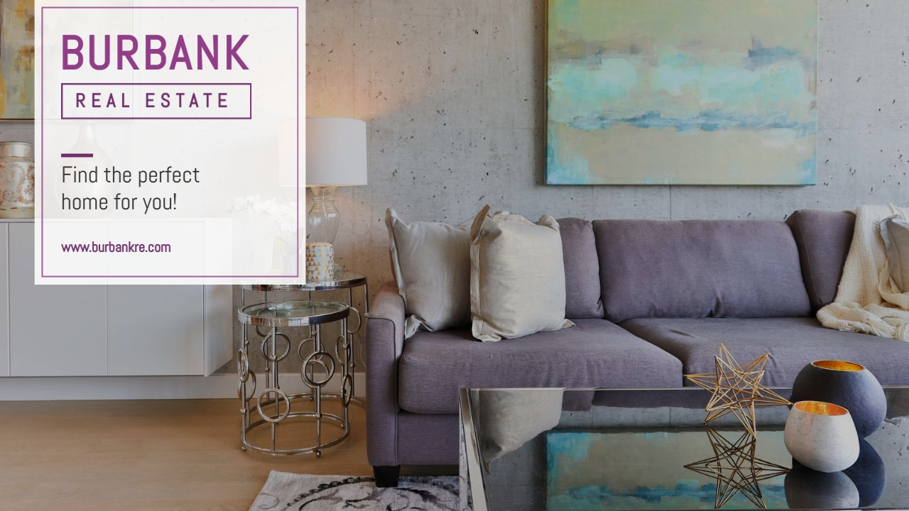 Burbank Real Estate - Zoom Background Template