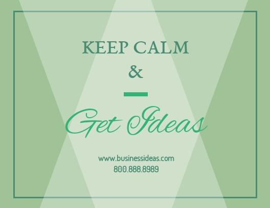 Business Ideas - Postcard Template